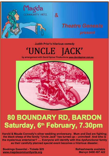 06.02.16 Magda & Theatre Genesis Presents Uncle Jack!